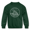 Utah Youth Sweatshirt - State Design Youth Utah Crewneck Sweatshirt