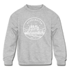 Washington Youth Sweatshirt - State Design Youth Washington Crewneck Sweatshirt