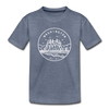 Washington Youth T-Shirt - State Design Youth Washington Tee