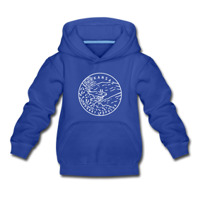 Arkansas Youth Hoodie - State Design Youth Arkansas Hooded Sweatshirt