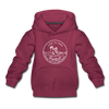 Louisiana Youth Hoodie - State Design Youth Louisiana Hooded Sweatshirt