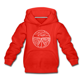 Nevada Youth Hoodie - State Design Youth Nevada Hooded Sweatshirt