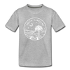 South Carolina Toddler T-Shirt - State Design South Carolina Toddler Tee