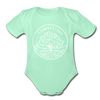 Connecticut Baby Bodysuit - Organic State Design Connecticut Baby Bodysuit