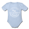 Louisiana Baby Bodysuit - Organic State Design Louisiana Baby Bodysuit