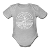 Massachusetts Baby Bodysuit - Organic State Design Massachusetts Baby Bodysuit