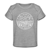 Idaho Baby T-Shirt - Organic State Design Idaho Infant T-Shirt