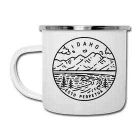 Idaho Camp Mug - State Design Idaho Mug