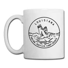 Louisiana Camp Mug - State Design Louisiana Mug