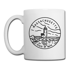 Massachusetts Camp Mug - State Design Massachusetts Mug
