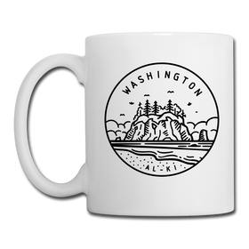 Washington Camp Mug - State Design Washington Mug
