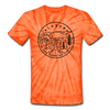 Alabama Tie-Dye T-Shirt - State Design Alabama Unsex T Shirt
