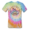 Louisiana Tie-Dye T-Shirt - State Design Louisiana Unsex T Shirt