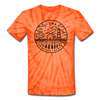 Iowa Tie-Dye T-Shirt - State Design Iowa Unsex T Shirt