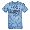 Nevada Tie-Dye T-Shirt - State Design Nevada Unsex T Shirt