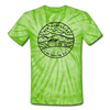 New Hampshire Tie-Dye T-Shirt - State Design New Hampshire Unsex T Shirt