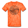 Oregon Tie-Dye T-Shirt - State Design Oregon Unsex T Shirt