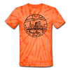 Ohio Tie-Dye T-Shirt - State Design Ohio Unsex T Shirt