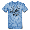 South Carolina Tie-Dye T-Shirt - State Design South Carolina Unsex T Shirt