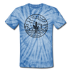 Texas Tie-Dye T-Shirt - State Design Texas Unsex T Shirt