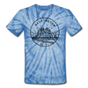 Washington Tie-Dye T-Shirt - State Design Washington Unsex T Shirt
