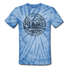 Virginia Tie-Dye T-Shirt - State Design Virginia Unsex T Shirt