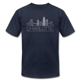 Charleston, South Carolina T-Shirt - Skyline Unisex Charleston T Shirt
