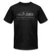 Colorado Springs, Colorado T-Shirt - Skyline Unisex Colorado Springs T Shirt