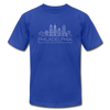Philadelphia, Pennsylvania T-Shirt - Skyline Unisex Philadelphia T Shirt