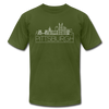 Pittsburgh, Pennsylvania T-Shirt - Skyline Unisex Pittsburgh T Shirt