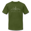 Seattle, Washington T-Shirt - Skyline Unisex Seattle T Shirt