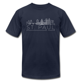 Saint Paul, Minnesota T-Shirt - Skyline Unisex Saint Paul T Shirt
