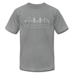 San Francisco, California T-Shirt - Skyline Unisex San Francisco T Shirt