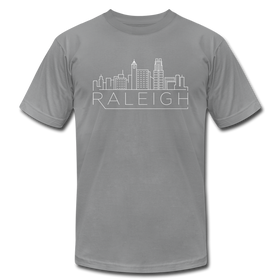 Raleigh, North Carolina T-Shirt - Skyline Unisex Raleigh T Shirt