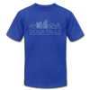 Sioux Falls, South Dakota T-Shirt - Skyline Unisex Sioux Falls T Shirt