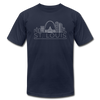 St. Louis, Missouri T-Shirt - Skyline Unisex St. Louis T Shirt