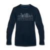 Birmingham, Alabama Long Sleeve T-Shirt - Skylines Unisex Birmingham Long Sleeve Shirt