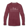 Memphis, Tennessee Long Sleeve T-Shirt - Skylines Unisex Memphis Long Sleeve Shirt