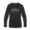 Nashville, Tennessee Long Sleeve T-Shirt - Skylines Unisex Nashville Long Sleeve Shirt