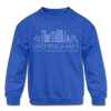 Birmingham, Alabama Youth Sweatshirt - Skyline Youth Birmingham Crewneck Sweatshirt