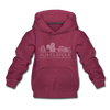 Albuquerque, New Mexico Youth Hoodie - Skyline Youth Albuquerque Hooded Sweatshirt