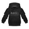 Charleston, South Carolina Youth Hoodie - Skyline Youth Charleston Hooded Sweatshirt