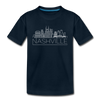 Nashville, Tennessee Youth T-Shirt - Skyline Youth Nashville Tee