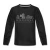 Albuquerque, New Mexico Youth Long Sleeve Shirt - Skyline Youth Long Sleeve Albuquerque Tee