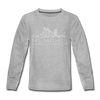 Memphis, Tennessee Youth Long Sleeve Shirt - Skyline Youth Long Sleeve Memphis Tee