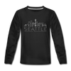 Seattle, Washington Youth Long Sleeve Shirt - Skyline Youth Long Sleeve Seattle Tee