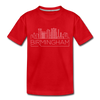Birmingham, Alabama Toddler T-Shirt - Skyline Birmingham Toddler Tee