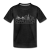 Charleston, South Carolina Toddler T-Shirt - Skyline Charleston Toddler Tee