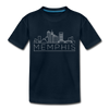 Memphis, Tennessee Toddler T-Shirt - Skyline Memphis Toddler Tee