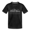 Nashville, Tennessee Toddler T-Shirt - Skyline Nashville Toddler Tee